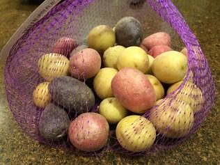 Petite potatoes...