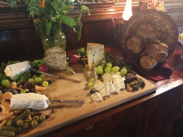 A gourmet spread