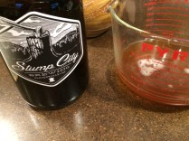Stump City Brewery growler