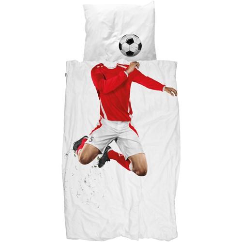 Snurk sängkläder - Fotbollsspelare Image