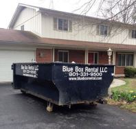 Dumpster Rental Delivered to Hagerstown, MD home