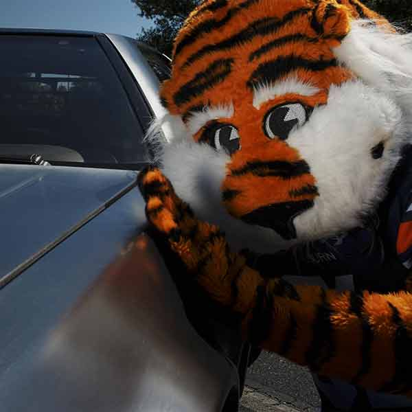 Aubie Goes Back to the Future
