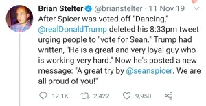 Stelter Ratio Spicer DWTS