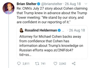 Stelter Ratio Trump Tower