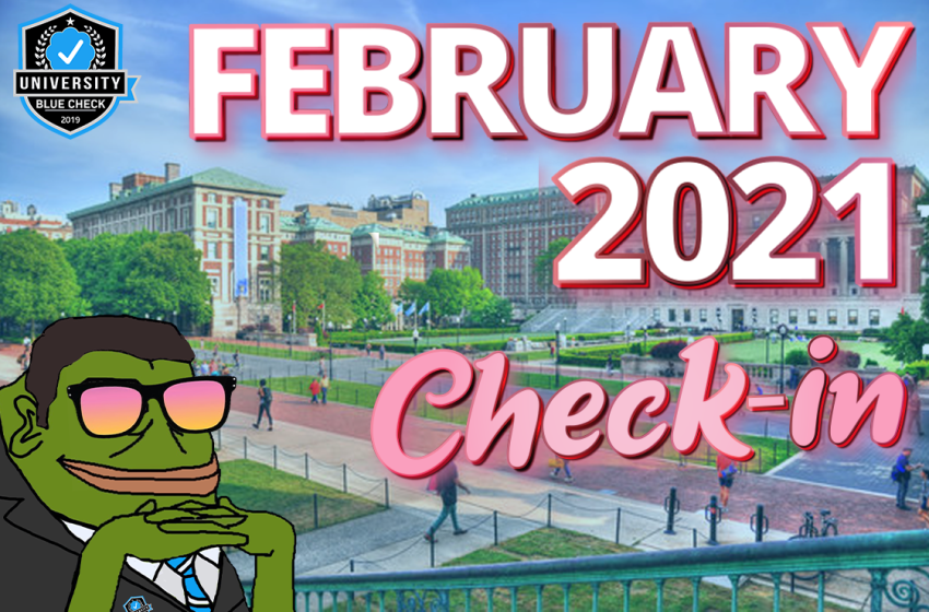 February 2021 Check-in (Part One)