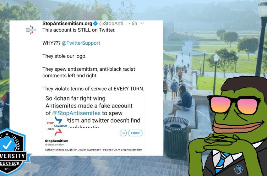 Parody Account Causes Blue Checkmark Meltdown