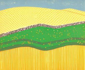 Original Linoleum Relief Art Print for sale - La Grande Oregon