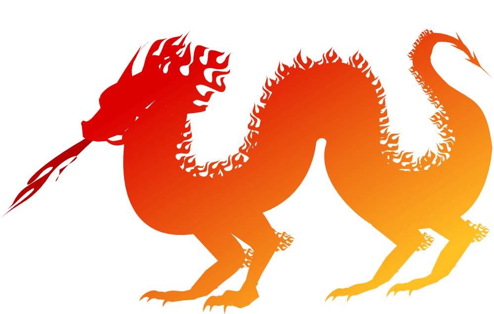 chinese new year dragon clip art orangepng