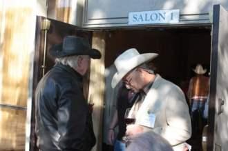 Clu Gulaer and Larry Martin