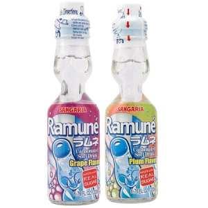 ramune bottles