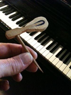 Broken Piano Hammer