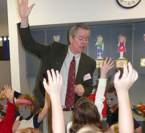Dr. Jim Anderson Leads A Class During The Great American Teach-In