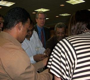 Dr. Jim Anderson Leads An IT Management Team Building Session