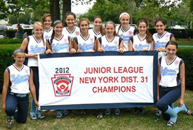 NY District 31 Junior League 2012 Champions