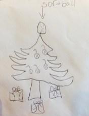 softball-christmas-tree