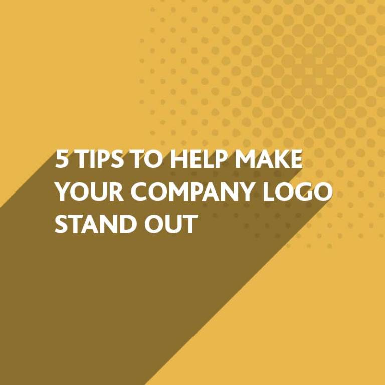 Make your company logo stand out