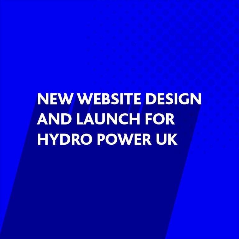 New website design for Hydro Power UK Ltd