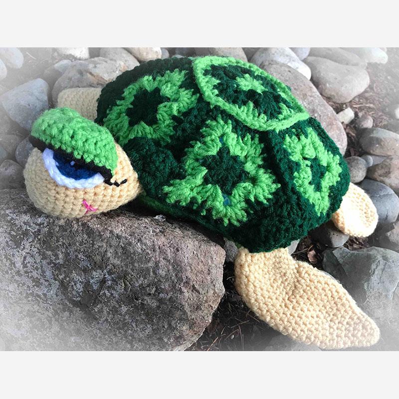 Toby The Turtle Crochet Pattern Blue Frog Creek