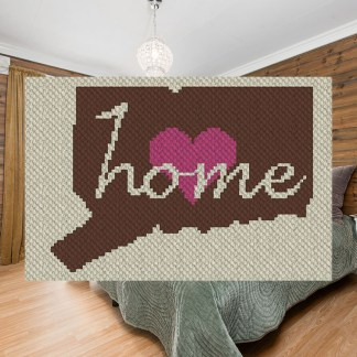 Connecticut Home C2C Corner to Corner Crochet Pattern