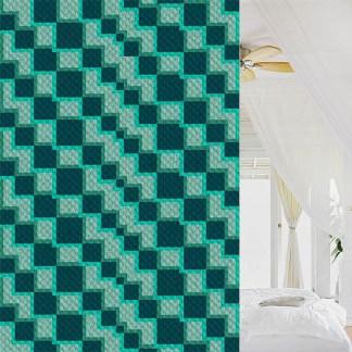 Into the Deep Blue Sea C2C corner to Corner Crochet Pattern
