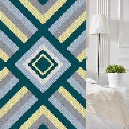 See the Sea C2C Corner to Corner Crochet Pattern