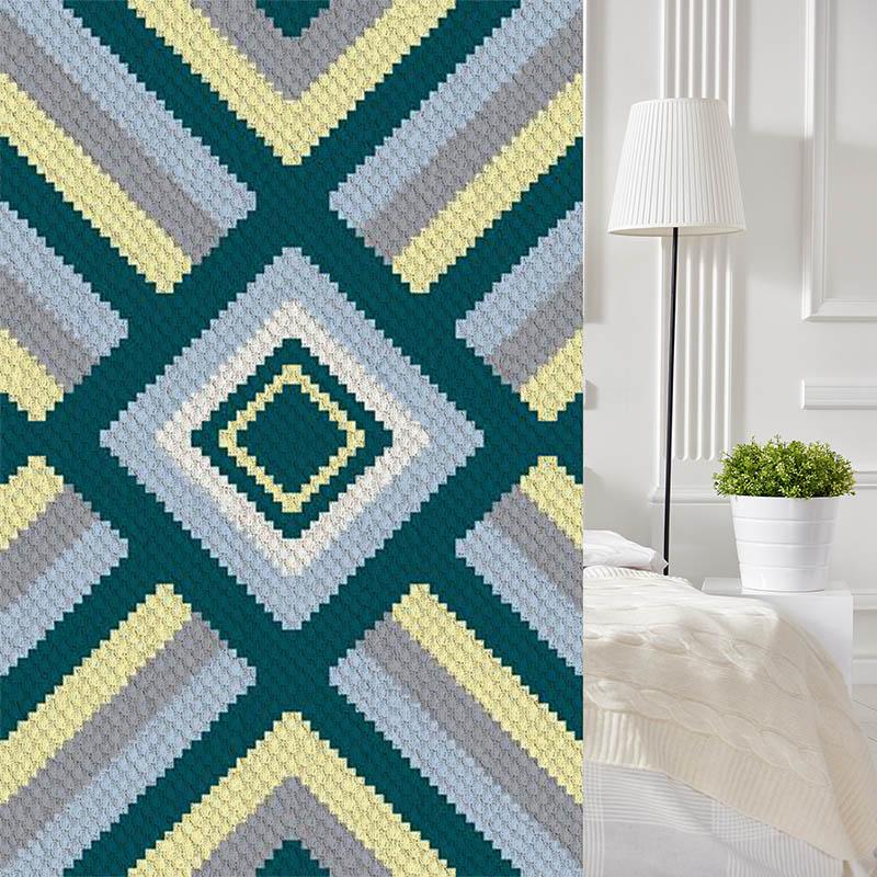 See the Sea C2C Crochet Pattern | Blue Frog Creek
