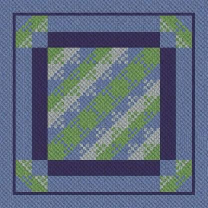 Bippity Boop C2C Crochet Pattern Graphghan corner to Corner
