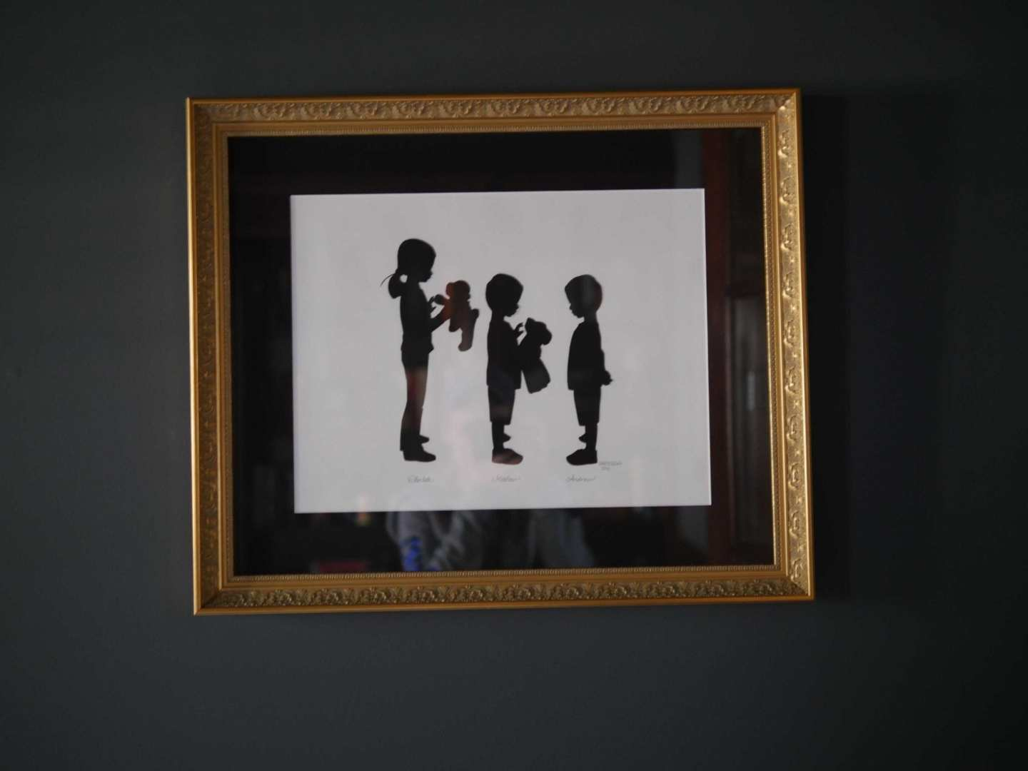 Cardboard silhouettes. Unique and pretty things to hang on a wall!