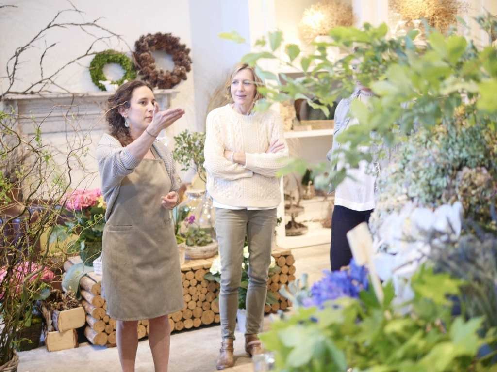 Georgia florists and Marie-Laure Coste Dujols.