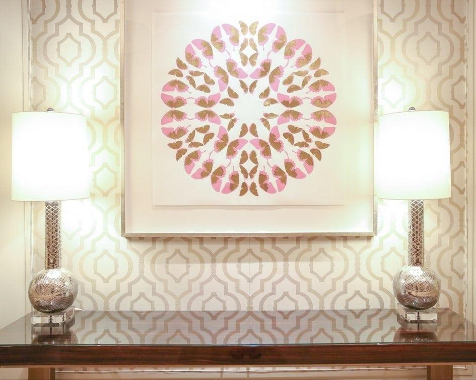 floating framed art in ballroom area of four seasons orlando