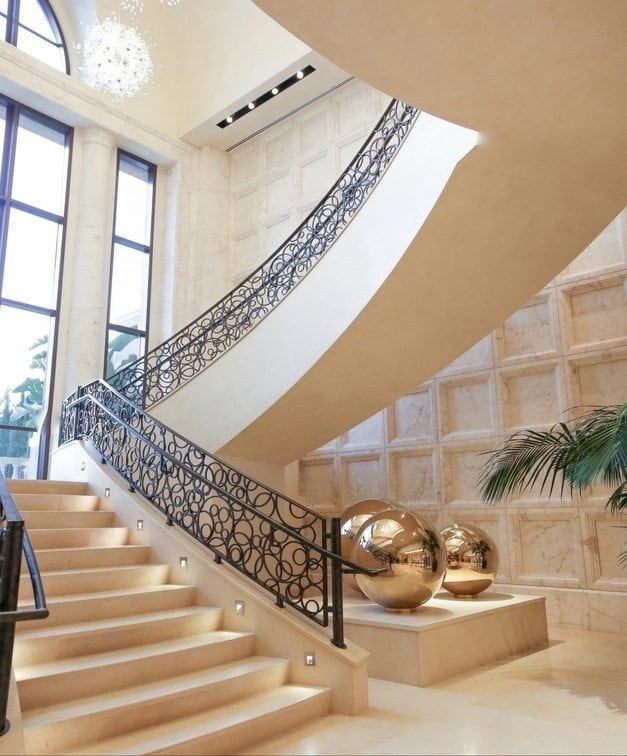 Grand staircase at four seasons orlando for weddings