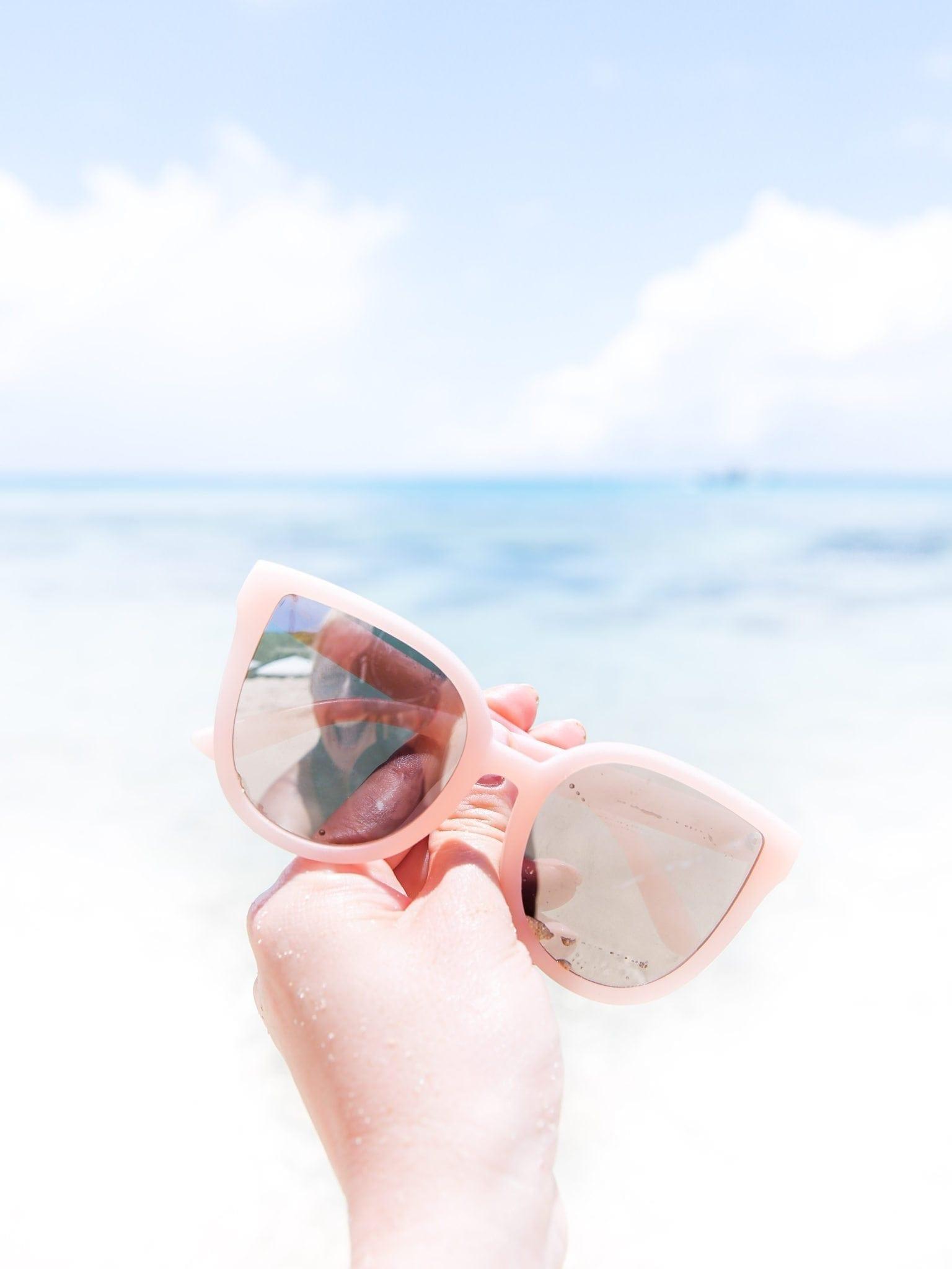 Pink Sunglasses from Quay Australia