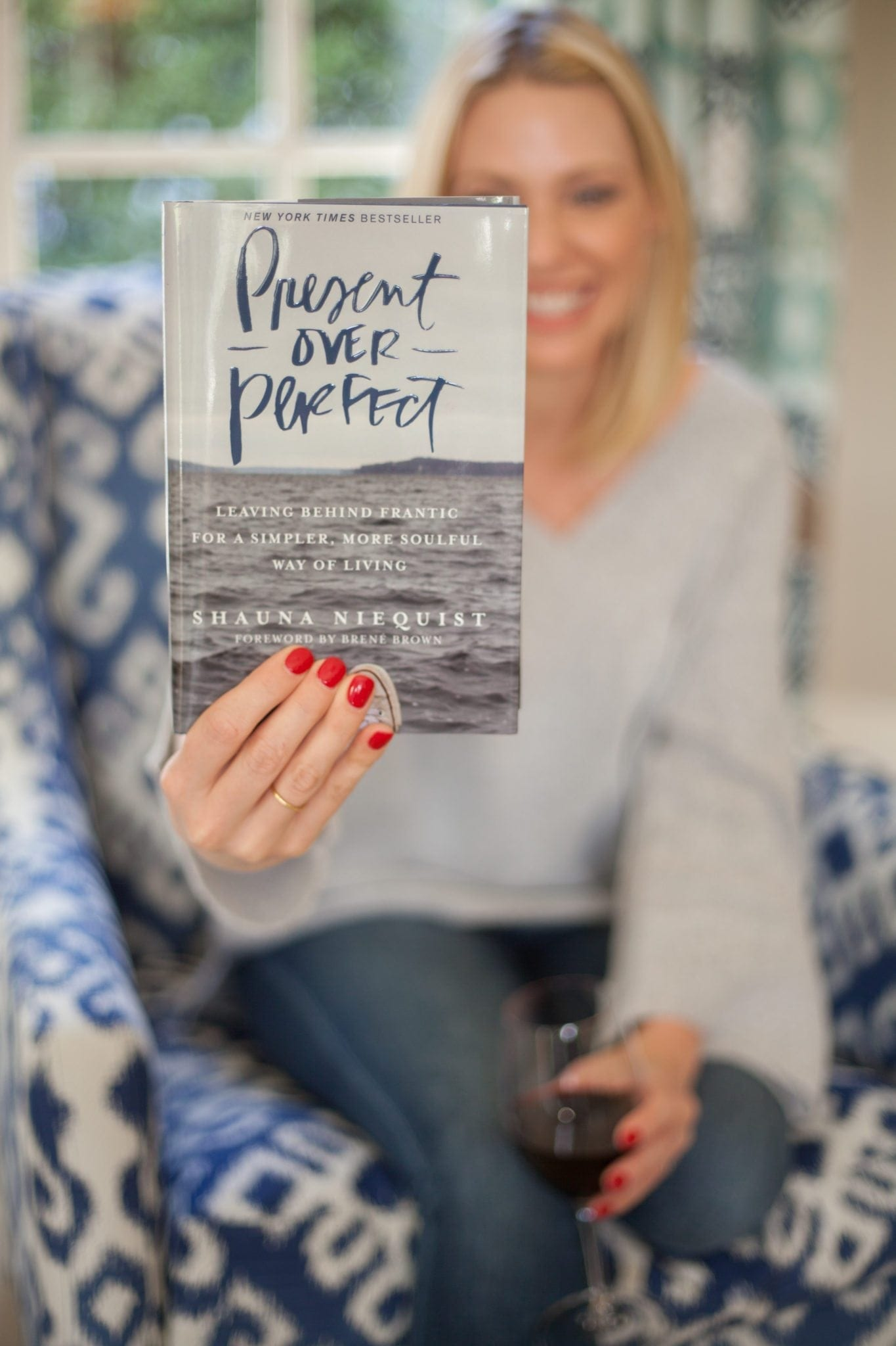 The book present over perfect and the idea that a lifestyle expert is hogwash. My thoughts on how Present over Perfect has impacted my life as a Mom and blogger.