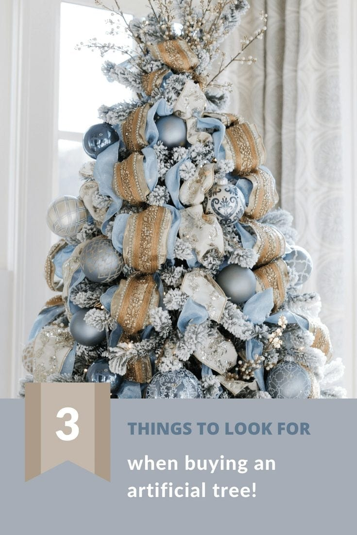 How to find a good artificial tree. Tips for artificial trees.