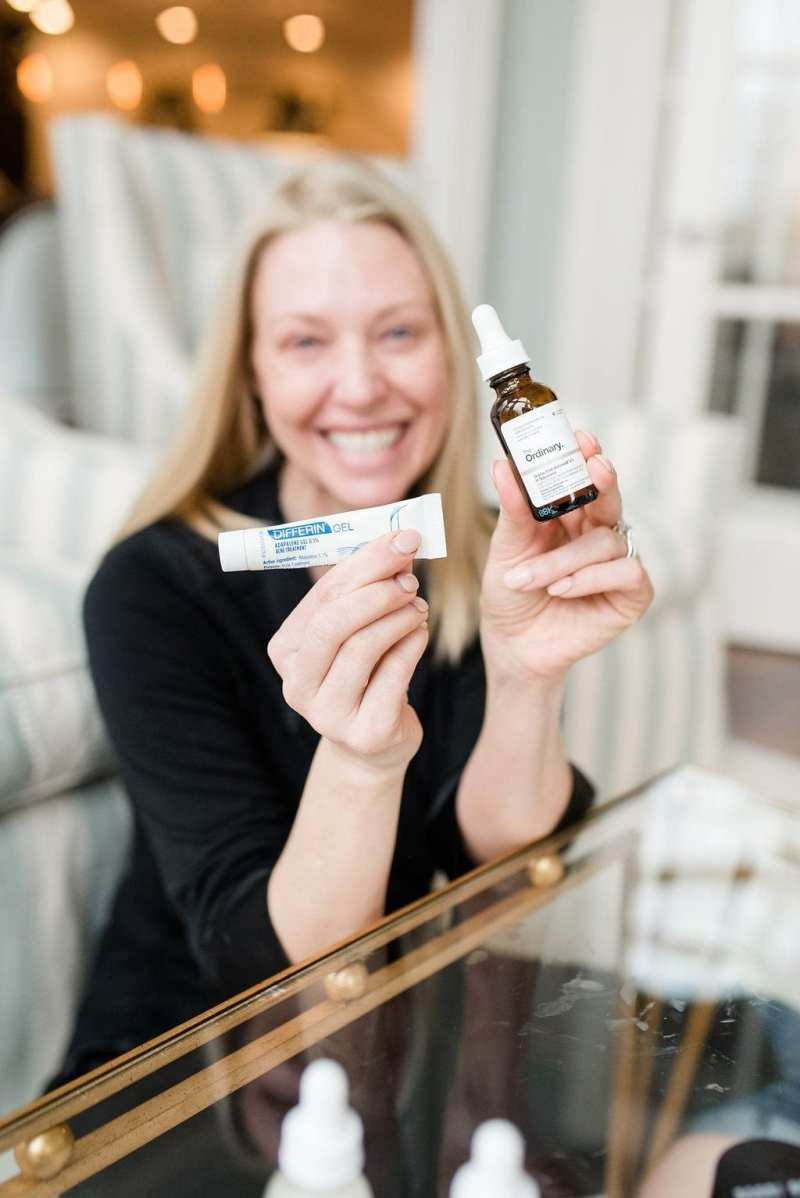 How to use retinol serum. The Ordinary Retinal and Differin gel.