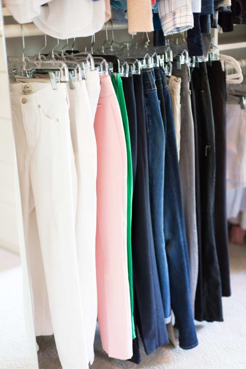 California Closet organizing tips.