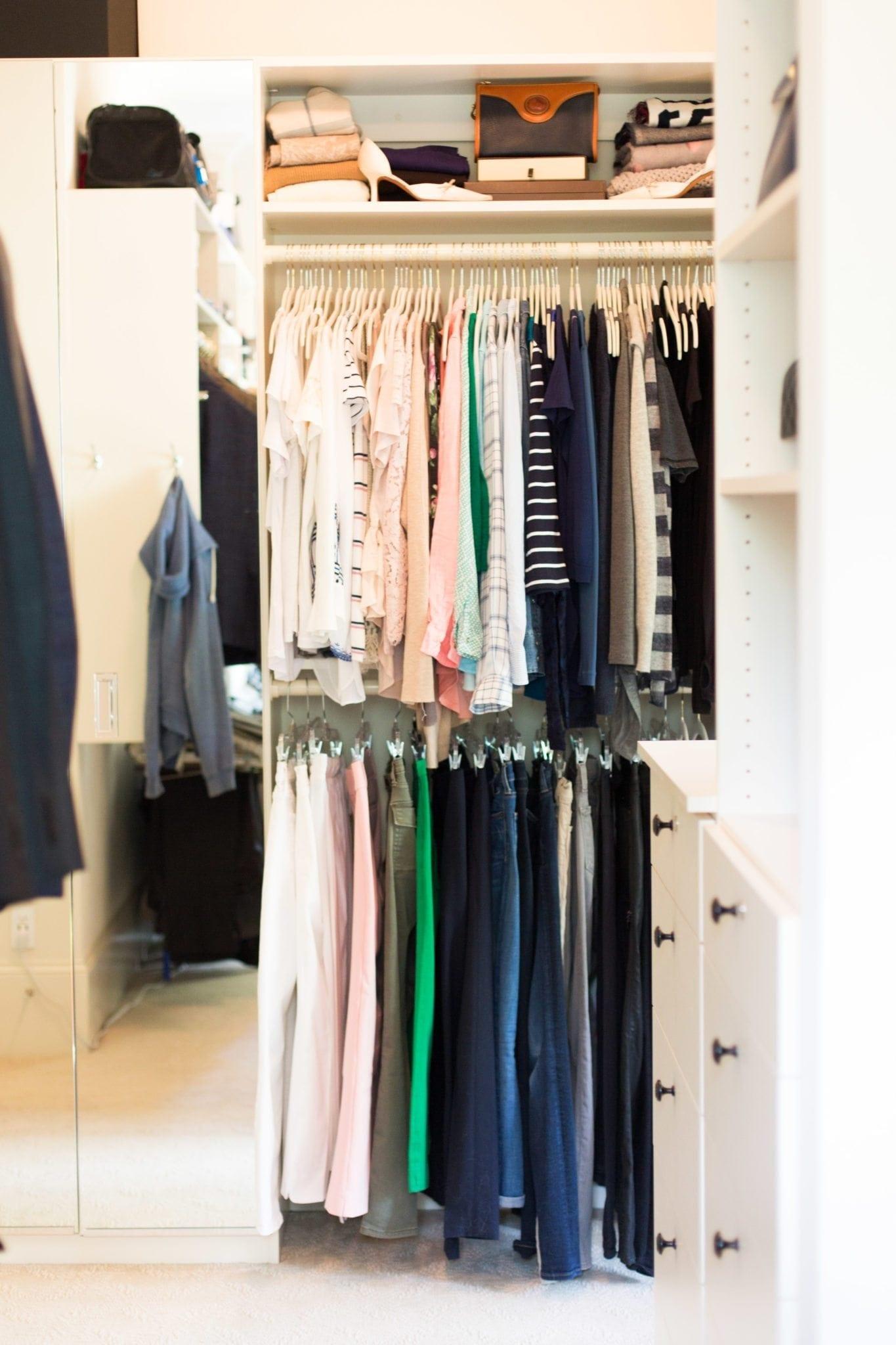 California Closets Atlanta and advice to better arrange closets.