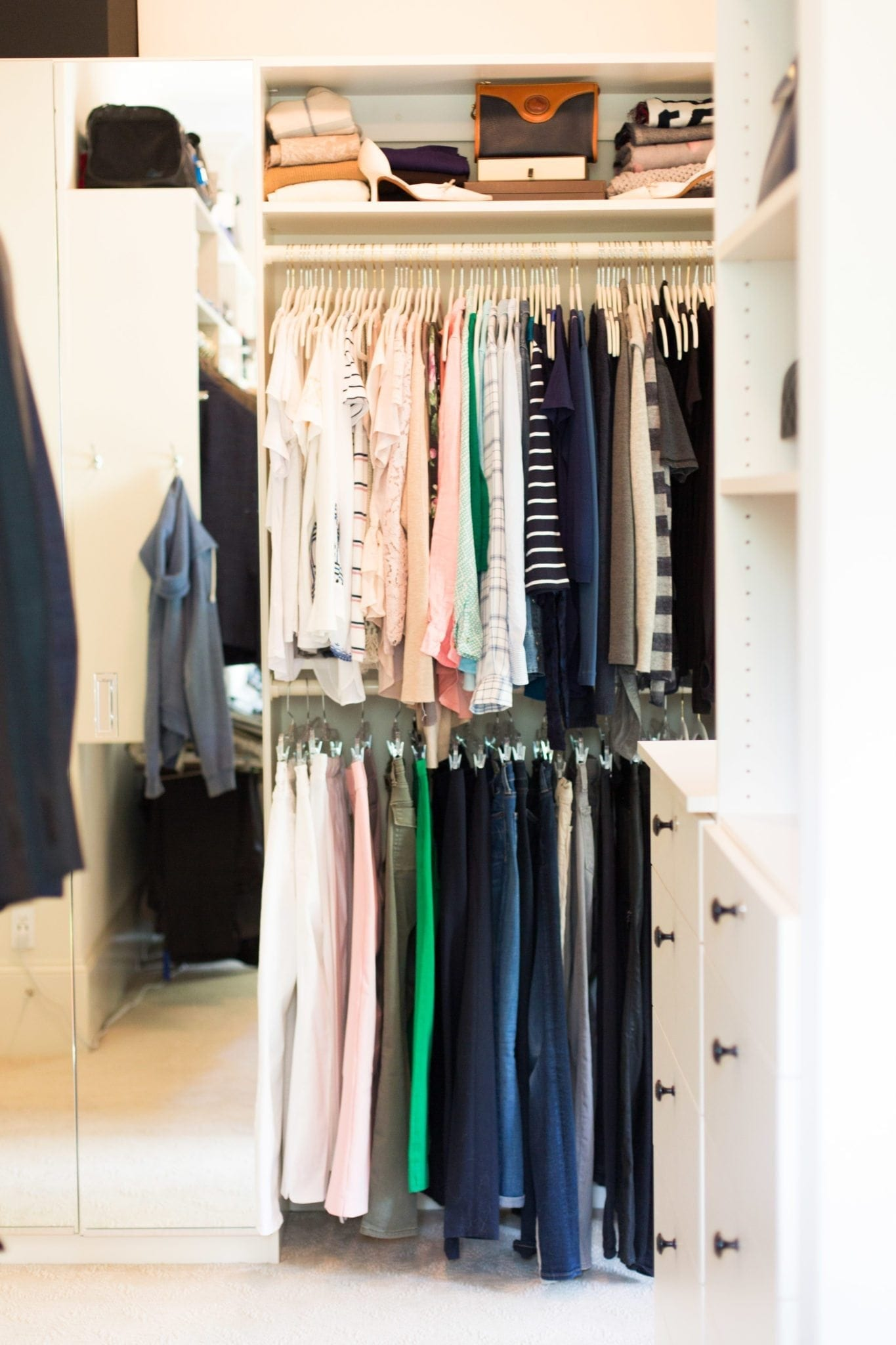 California Closets Atlanta and advice to better arrange closets.