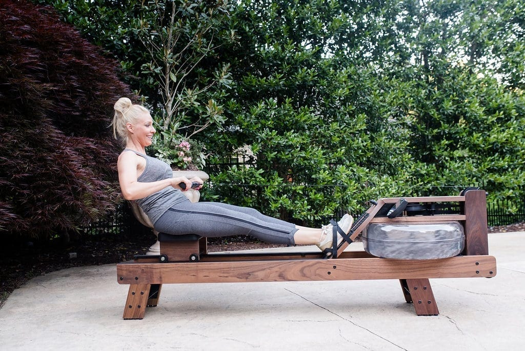 Water Rower for knee recovery.
