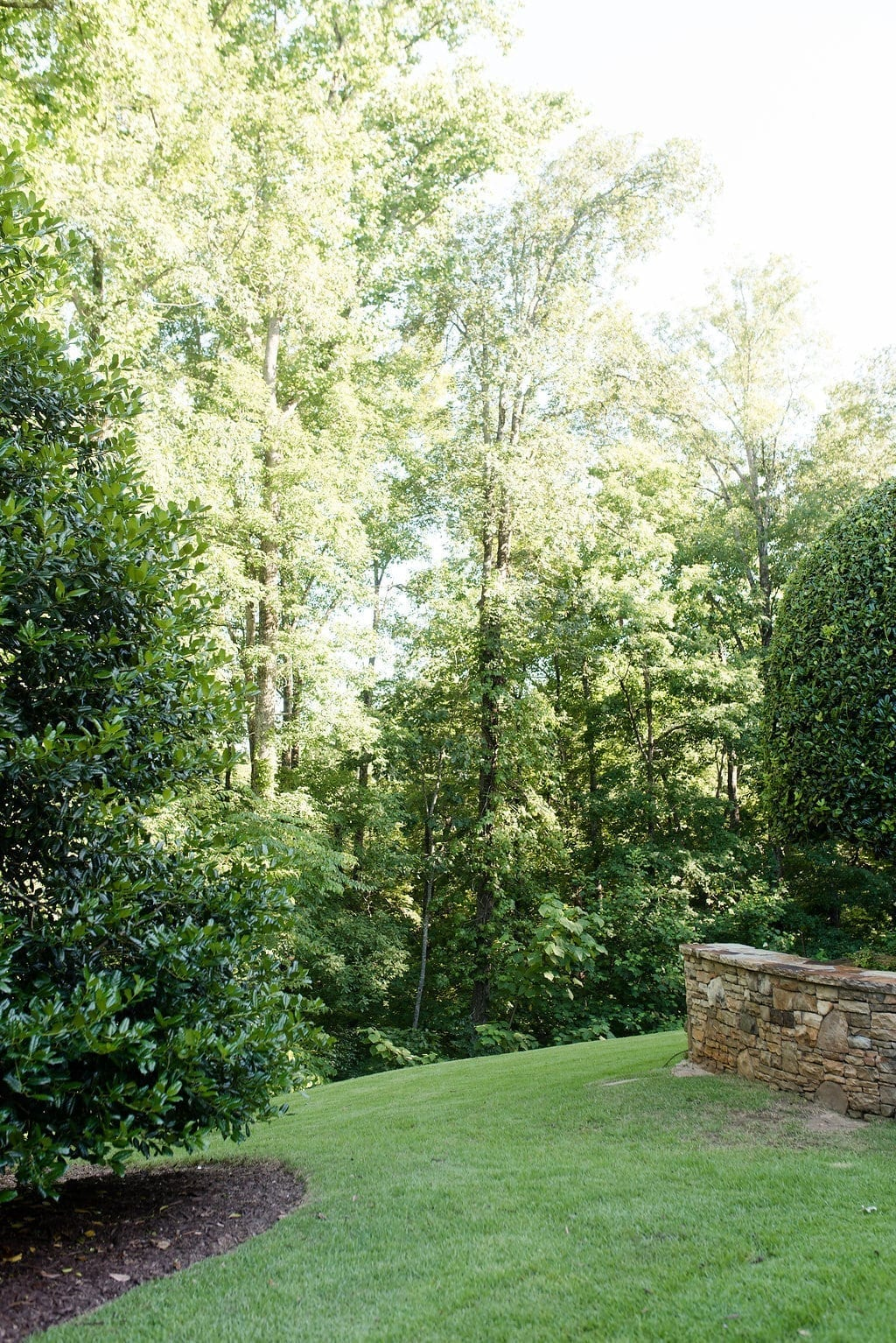 Atlanta landscape ideas in Georgia homes.