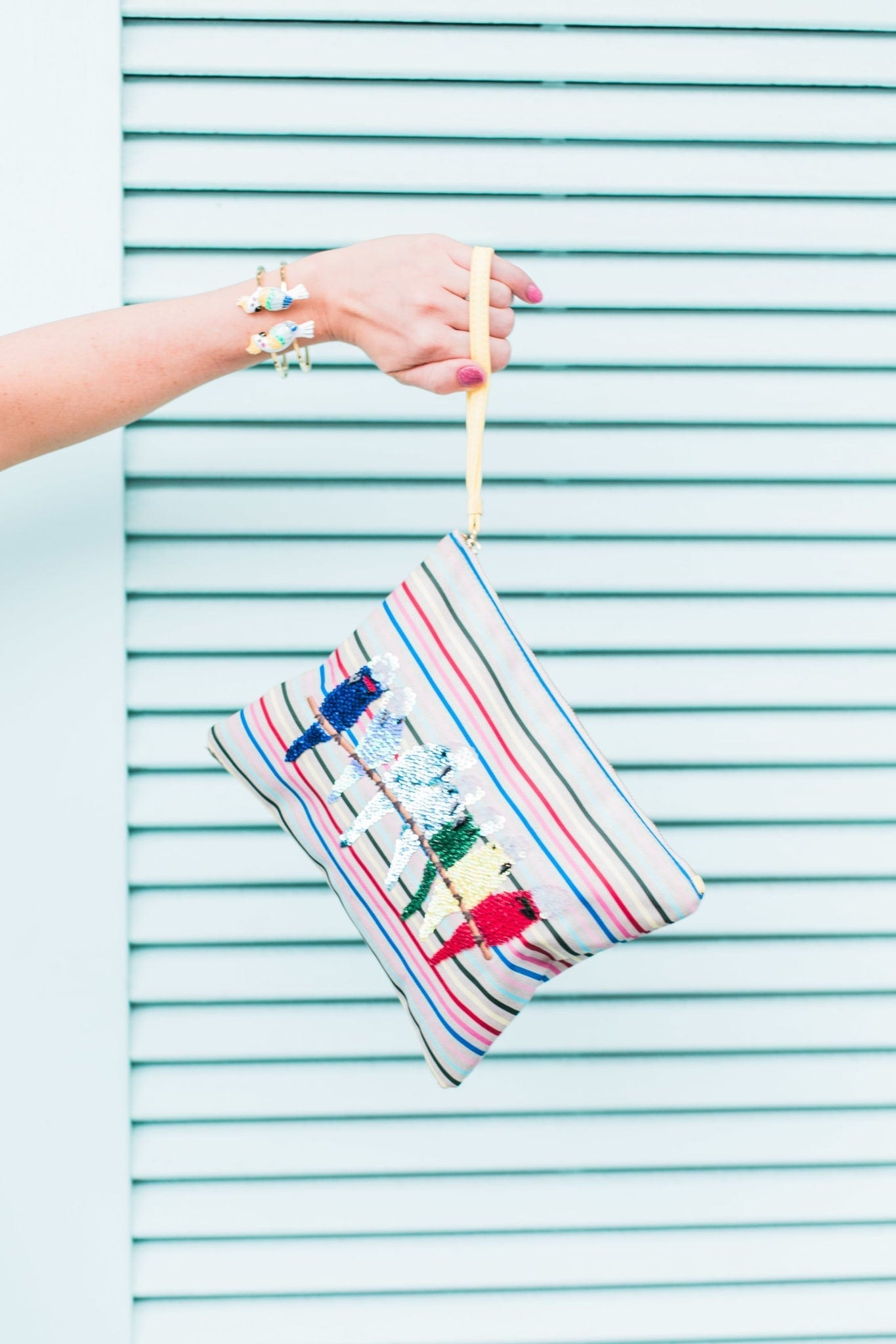 Talbots clutch on sale. A must have for Parrotheads!