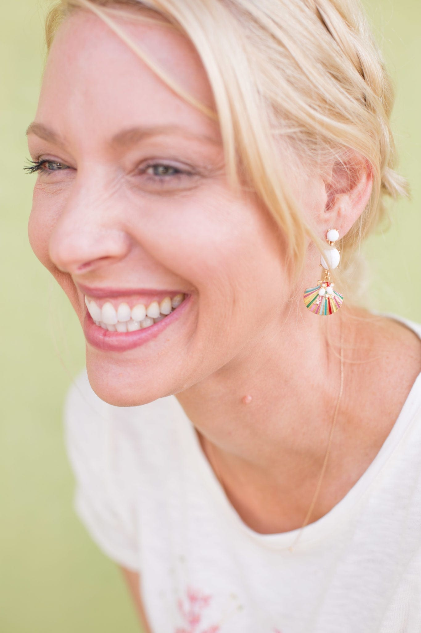 Atlanta blogger Kelly Page, bluegrayga, for Talbots.
