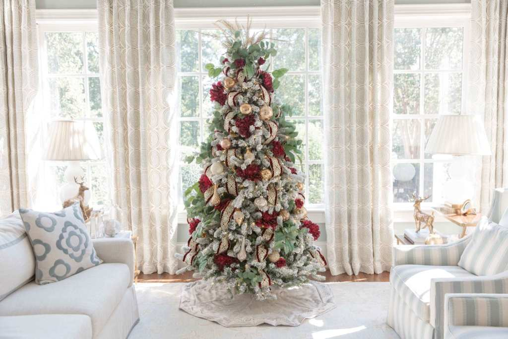 How to decorate artificial Christmas Trees.