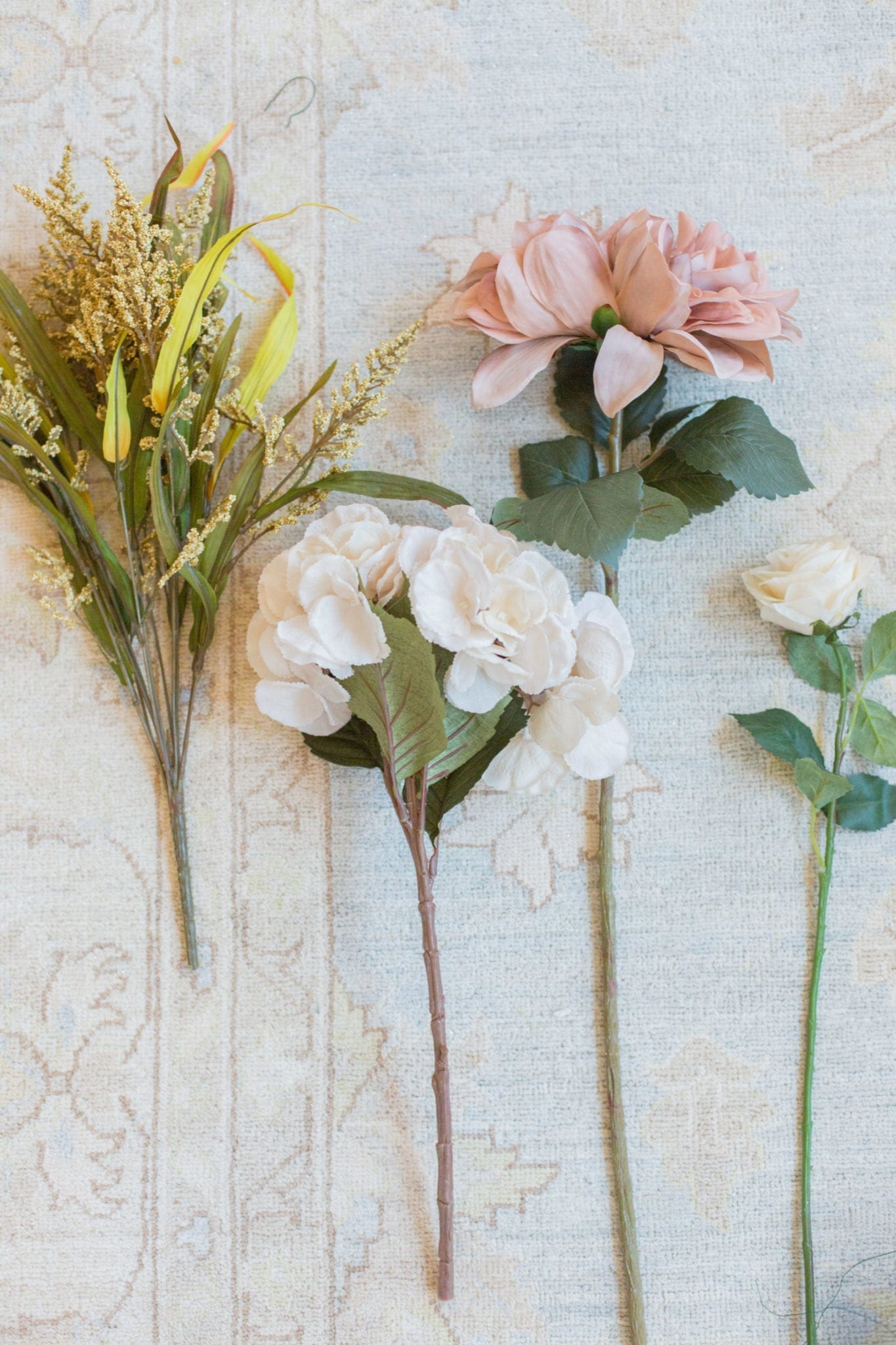 how to make flower arrangements with artificial flowers