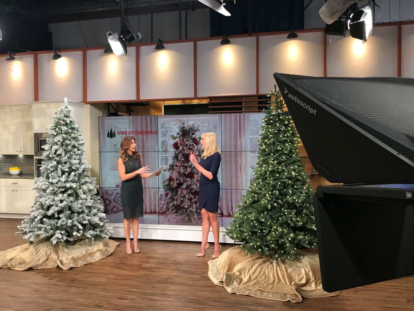 "King of Christmas Trees. NBCs ""Atlanta and Company"" segment on artificial Christmas trees."