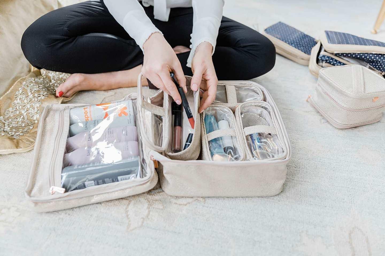 Travel cases the Kardashians use