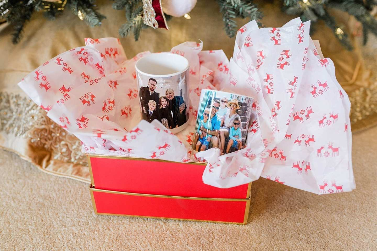 Personalized Mugs as present ideas for family or friend gifts.