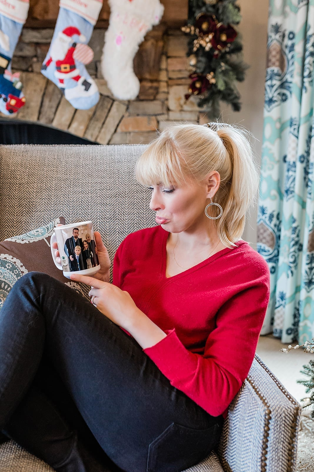 Sentimental Gift Ideas are the best! I love gifting Coffee Mugs so people can see photos every day when they wake up! It starts your day off with happy memories!