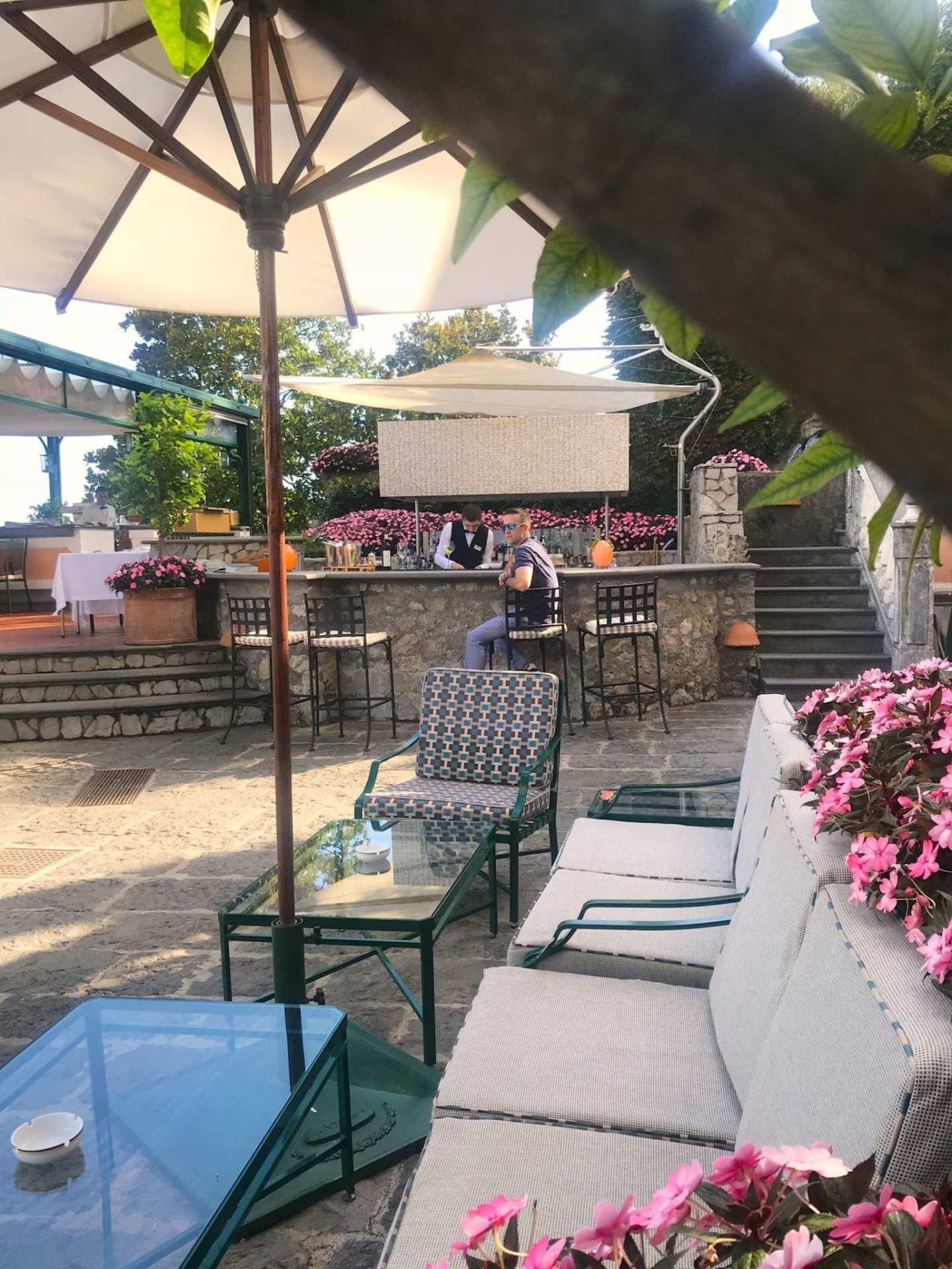 Palazzo Avino bar and restaurant reviews.