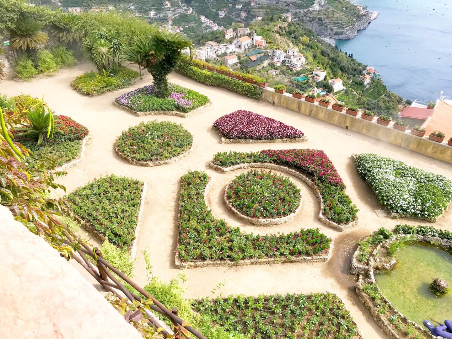 Things to do in Ravello, Italy. Gardens of Ravello Italy.